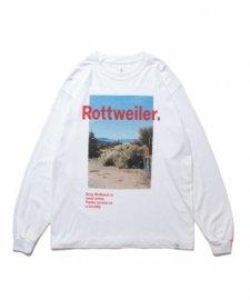 ROTTWEILER (ロットワイラー) Desert Photo LS Tee (ロングスリーブTee) WHITE