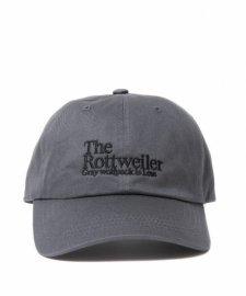 【30%OFF】ROTTWEILER (ロットワイラー) Dad Rottweiler Cap (ダッドキャップ) GRAY