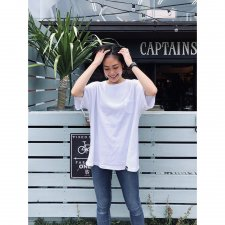 CAPTAINS HELM (キャプテンズヘルム) #PLEASURE SEEKER TEE (S/STEE) SUPER WHITE