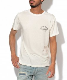 【30%OFF】ALMOND(アーモンド) SURFSHOP PHOTO TEE (プリント半袖TEE) NATURAL