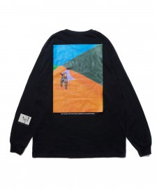 ROTTWEILER (ロットワイラー) 浅野忠信×Rottweiler Bicycle LS Tee(ロングスリーブTee) BLACK