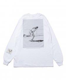 ROTTWEILER (ロットワイラー) 浅野忠信×Rottweiler Skater LS Tee(ロングスリーブTee) WHITE