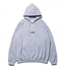 COOTIE (クーティー) Print Pullover Parka (LOGO)(プリントプルオーバーパーカー) Ash Gray