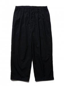 COOTIE (クーティー) Ventile 2 Tuck Easy Pants (べンタイルツータックイージーパンツ) Black