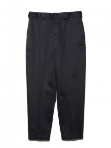 COOTIE (クーティー) T/C Tapered Trousers (テーパードトラウザー) Black