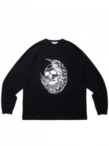 COOTIE (クーティー) Print L/S Tee (MAGICAL DESIGN) (プリント長袖TEE) Black