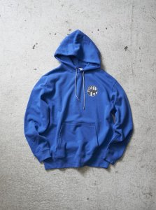 【30%OFF】ANASOLULE (アナソルール) Logo Hoodie(ロゴフーディー) R.Blue