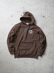 【30%OFF】ANASOLULE (アナソルール) Logo Hoodie(ロゴフーディー) Brown