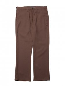 COOTIE (クーティー) Stretch Shoe Cut Trousers(ストレッチシューカットトラウザー) Brown