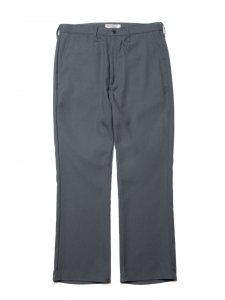 COOTIE (クーティー) Stretch Shoe Cut Trousers(ストレッチシューカットトラウザー) Green Gray