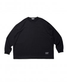 COOTIE (クーティー) Supima Cotton L/S Tee(スーピマコットンL/S Tee) Black
