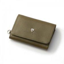 【残り1点】GARNI(ガルニ) Sign Three Fold Wallet (シングスリーフォールドウォレット) KHAKI