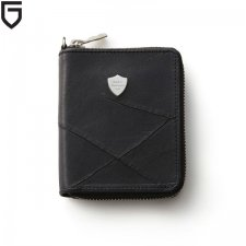 GARNI(ガルニ) Insection Zip Fold Wallet (インセクションジップフォールドウォレット) BLACK