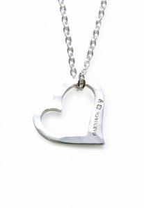 【残り1点】GARNI (ガルニ) Heart Pendant - S (ハートペンダント スモール) SILVER