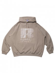 COOTIE (クーティー) T/C Pullover Parka(ラッセルアスレティックパーカー) Smoke Beige×Clear