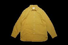 【残り1点】WAX (ワックス) Autumn shirts (オープンカラーシャツ) YELLOW