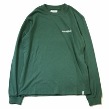 TCSS (ティーシーエスエス) SLANG L/S TEE (刺繍長袖TEE) Dark Green