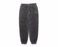WACKO MARIA (ワコマリア) LEOPARD FLEECE SWEAT PANTS (レオパードフリーススエットパンツ) GRAY