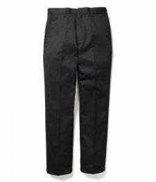 WACKO MARIA (ワコマリア) TWILL SKATE PANTS ( TYPE-1) (ツイルスケーターパンツ) BLACK