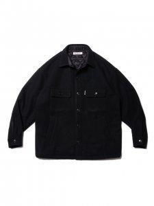 COOTIE (クーティー) Wool Mossa CPO Jacket (ウールCPOジャケット) Black