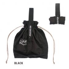 POST GENERAL (ポストジェネラル) PACKABLE PARACHUTE NYLON BAG (パッカブル パラシュートナイロンバッグ) BLACK