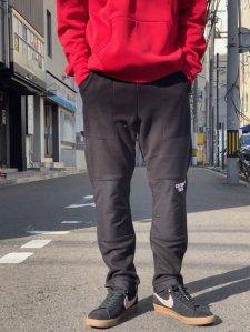 CAPTAINS HELM (キャプテンズヘルム) #FLEECE TRACK PANTS (フリーストラックパンツ) BLACK