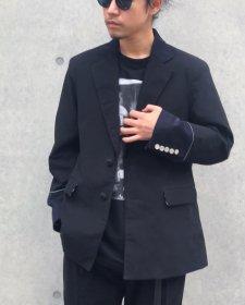 【40%OFF】ANASOLULE (アナソルール) Tailored JKT(テイラードジャケット) Black&Black