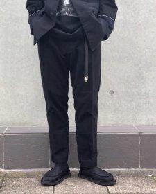 ANASOLULE (アナソルール) Working TrousersPT(ワーキングトラウザーパンツ) Black