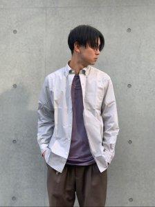 WACKO MARIA (ワコマリア) B.D DRESS SHIRT ( TYPE-2 )  (ボタンダウンドレスシャツ) GRAY