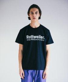 ROTTWEILER (ロットワイラー) G.W.P TEE (プリントT) BLACK