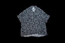 【21SS先行予約商品】WAX (ワックス) Animal open collar shirts (アニマルオープンカラーシャツ) BLACK