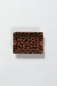 WACKO MARIA (ワコマリア) LEOPARD ASHTRAY (TYPE-1) (レオパード柄灰皿) BROWN