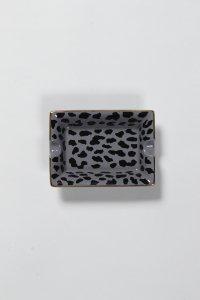WACKO MARIA (ワコマリア) LEOPARD ASHTRAY (TYPE-1) (レオパード柄灰皿) GRAY
