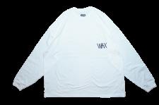 【21SS先行予約商品】WAX (ワックス) Wide body L/S tee(長袖カットソー) WHITE
