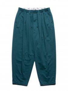 COOTIE (クーティー) T/C 2 Tuck Easy Pants(T/Cツータックイージーパンツ) Green