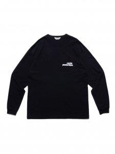 COOTIE (クーティー) Print L/S Tee(プリント長袖TEE) Black