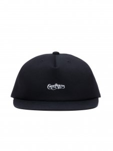 COOTIE (クーティー) Stretch Twill 5 Panel Cap(ストレッチツイルキャップ) Black×White