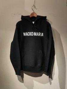 WACKO MARIA (ワコマリア) HEAVY WEIGHT PULLOVER HOODED SWEAT SHIRT (TYPE-2) (プルオーバーパーカー) BLACK