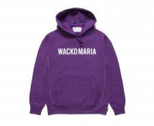 【残り1点】WACKO MARIA (ワコマリア) HEAVY WEIGHT PULLOVER HOODED SWEAT SHIRT (TYPE-2) (プルオーバーパーカー) PURPLE