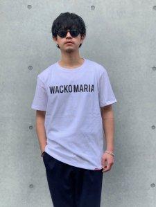 WACKO MARIA (ワコマリア) HEAVY WEIGHT CREW NECK T-SHIRT (TYPE-2) (ヘビーウェイトクルーネックTEE) WHITE