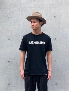 【残り1点】WACKO MARIA (ワコマリア) HEAVY WEIGHT CREW NECK T-SHIRT (TYPE-2) (ヘビーウェイトクルーネックTEE) BLACK