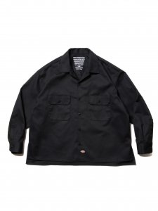 COOTIE (クーティー) T/C CPO Jacket (CPOジャケット) Black