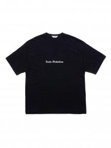 【残り1点】COOTIE (クーティー) Print S/S Tee (プリント半袖TEE) Black