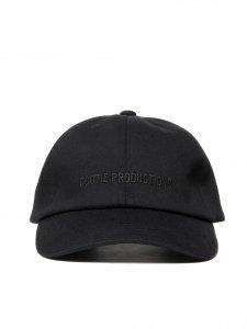 【残り1点】COOTIE (クーティー) Stretch Curved Brim Cap (ストレッチカーブブリムキャップ) Black×Black