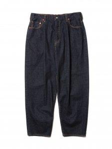 COOTIE (クーティー) Raza 1 Tuck Denim Pants (ワンタックデニムパンツ) Indigo