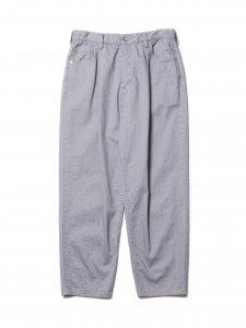 COOTIE (クーティー) Raza 1 Tuck Denim Pants (ワンタックデニムパンツ) Gray