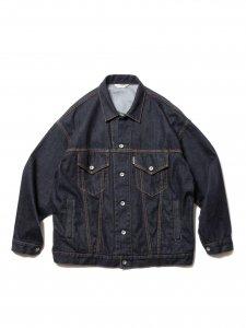 【残り1点】COOTIE (クーティー) Raza Denim Jacket (ラサデニムジャケット) Indigo