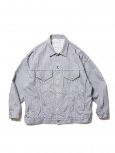 COOTIE (クーティー) Raza Denim Jacket (ラサデニムジャケット) Gray