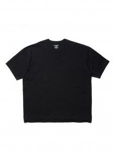 COOTIE (クーティー) Open End Yarn Error Fit S/S Tee (ビックシルエット半袖TEE) Black