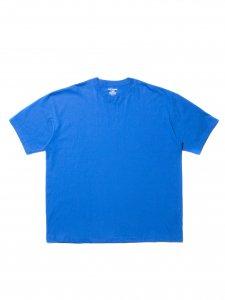 COOTIE (クーティー) Open End Yarn Error Fit S/S Tee (ビックシルエット半袖TEE) Blue